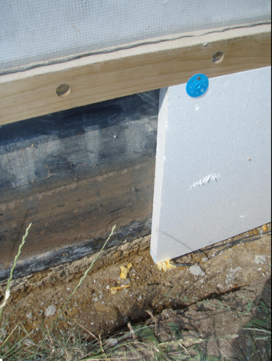 Slab-edge insulation