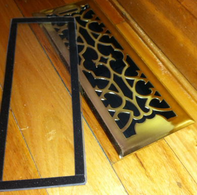 closable floor vent