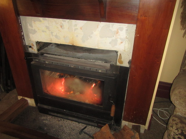 Fireplace - slow combustion